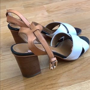 Coach ankle strap sandals